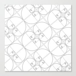 Golden Ratio (Part II) Canvas Print