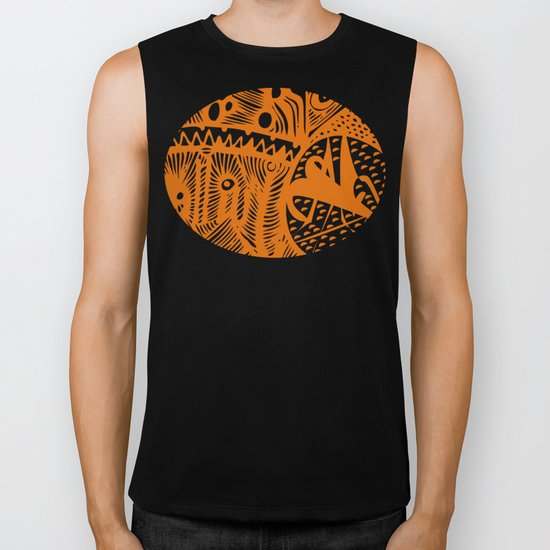 INK#9 Dreaming of India Biker Tank