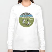 happy birthday Long Sleeve T-shirts featuring Happy Birthday by CrismanArt