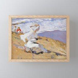 Joaquin Sorolla y Bastida - Capturing the moment, 1906 Framed Mini Art Print