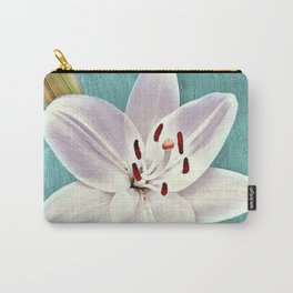 White Lily 2 Carry-All Pouch