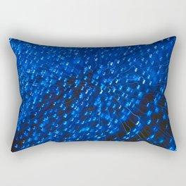 Blue Light IV Rectangular Pillow
