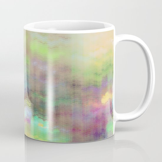 Small Mountain Village Mug