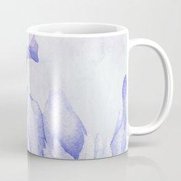 Watercolor Iris Coffee Mug