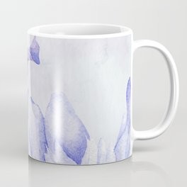 Watercolor Iris Coffee Mug