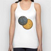 sun and moon Tank Tops featuring Sun &  Moon by Jonathan Knight
