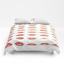 Lips II Comforters