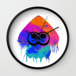 Splatoon Wall Clock