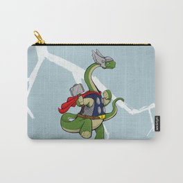 """Bronto""""THOR""""us - God of Thunder Lizards Carry-All Pouch"""