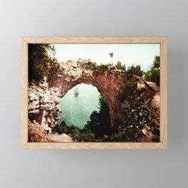 Secret Cove Vintage Seascape Framed Mini Art Print