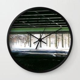 Under the Van Wyck  Wall Clock