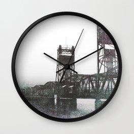 Stillwater Lift Bridge Wall Clock