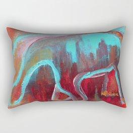 The Renosaurus Rectangular Pillow