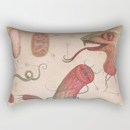 Serpent Analysis Rectangular Pillow