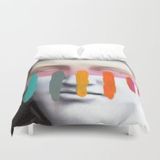 Composition on Panel 2 Duvet Cover