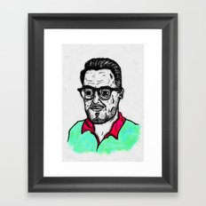 Selfy, Raúl Framed Art Print