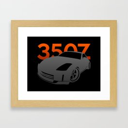 Nissan 350Z Framed Art Print