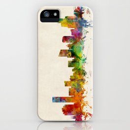 Grand Rapids Michigan Skyline Cityscape iPhone Case