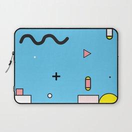 Memphis Style Pattern Laptop Sleeve