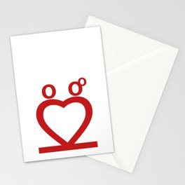 Two Love Stationery Cards