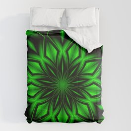Mandala Green 6 Comforters