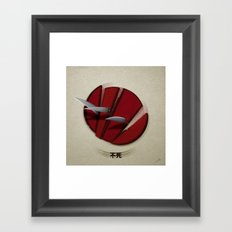 Weapon Chi Framed Art Print