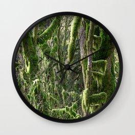 RAINFOREST VINE MAPLE TANGLE Wall Clock
