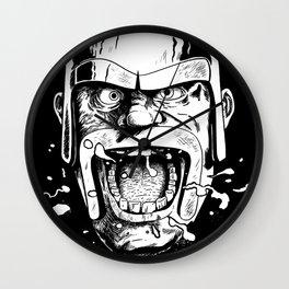 Barbarian Game Face Wall Clock