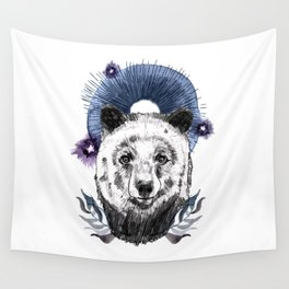 The Bear (Spirit Animal) Wall Tapestry