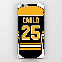 Brandon Carlo Jersey iPhone Skin
