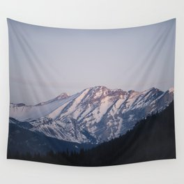 Golden Hour in the Rockies Wall Tapestry