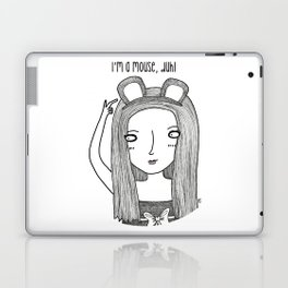 I'm a mouse, duh! Laptop & iPad Skin