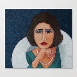 Florbela Espanca Canvas Print
