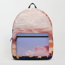 Sunset over the Cityscape (Color) Backpack