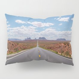 Highway 163, Monument Valley Pillow Sham
