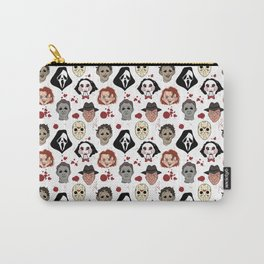Horror Villains Pattern Carry-All Pouch