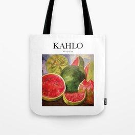Kahlo - Viva la Vida Tote Bag