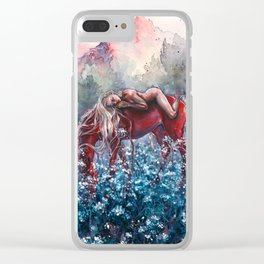 Epona Clear iPhone Case