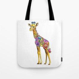 Geraldine the Genuinely Nice Giraffe Tote Bag