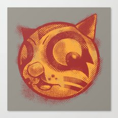 Red cat Rocka Rolla Canvas Print