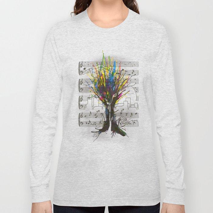 Ink Chords Long Sleeve T-shirt