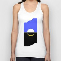 sun and moon Tank Tops featuring The sun and moon by barmalisiRTB