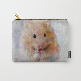 Artistic Animal Hamster Carry-All Pouch