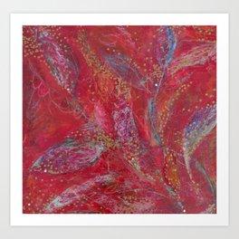DreamingLeaves(1)2008 Art Print