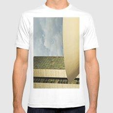 Brasilia, Brazil Architecture MEDIUM Mens Fitted Tee White