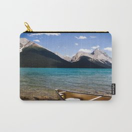 Maligne Lake Beached Canoe Carry-All Pouch