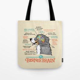 The Berner Brain - Bone Tote Bag