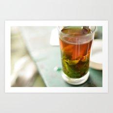 Tea 4 Joy Art Print