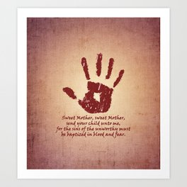 Dark Brotherhood Art Print