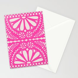 Fiesta de Flores Pink Stationery Cards